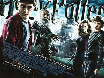 Harry_Potter_and_the_Half blood Prince Poster