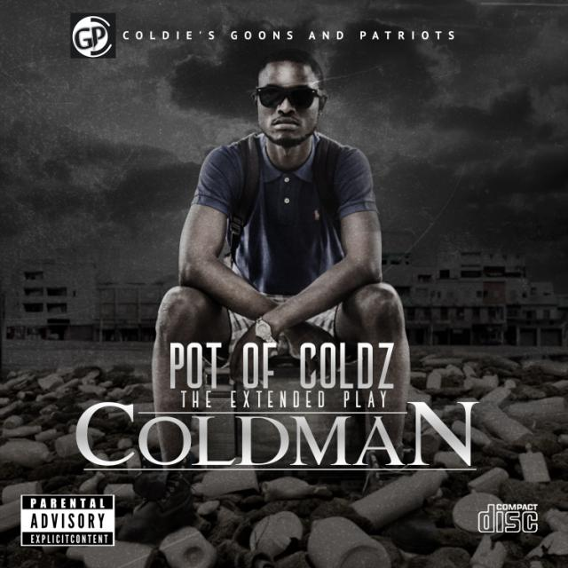 Coldman - Pot of Coldz front cover Album art