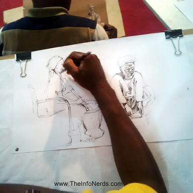A Contestant's Drawing