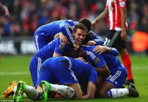 Chelsea-players