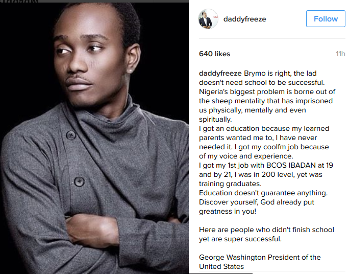 Freeze-defends-Brymo-lists-successful-people-who-dropped-out-of-school