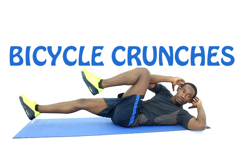 Bicycle crunch