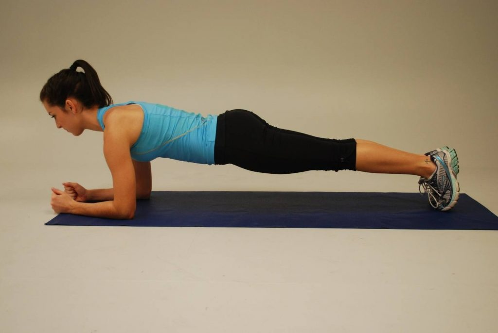 Regular plank to lose belly fat